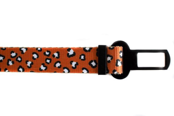 That Leopard Print: Adjustable Car Restraint