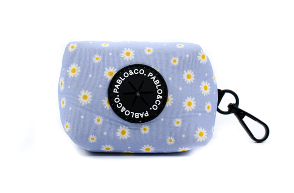 Blue Daisy - Poop Bag Holder