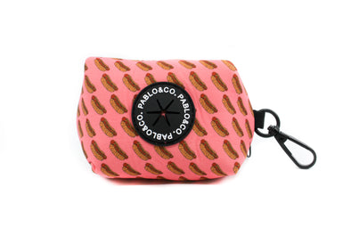 Pink Hot Dogs - Poop Bag Holder