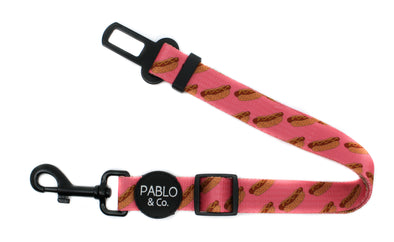 Pink Hot Dogs: Adjustable Car Restraint
