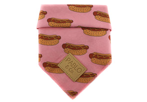 Pink Hot Dogs- Bandana