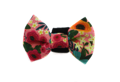 Floral Edit: Cat Bow Tie