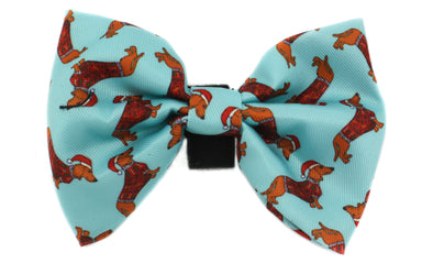 Dachshund Through the Snow: Bow Tie
