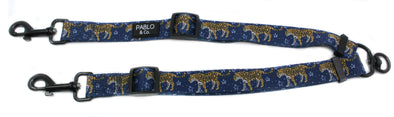 Midnight Cheetah: Adjustable Leash Splitter