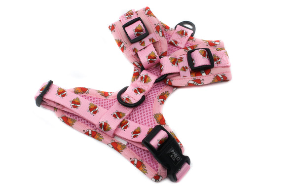Pink BFF: Adjustable Harness