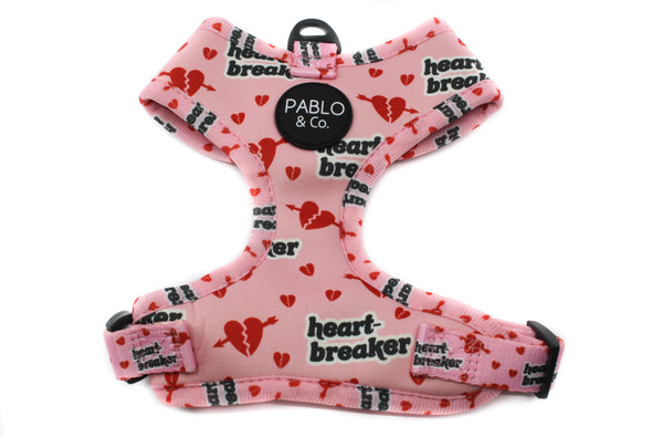 Pink Heartbreaker: Adjustable Harness