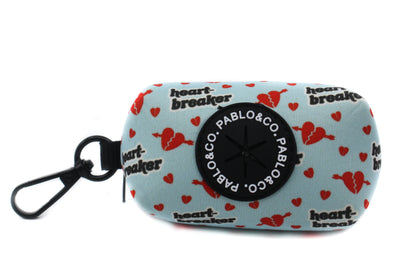Blue Heartbreaker - Poop Bag Holder