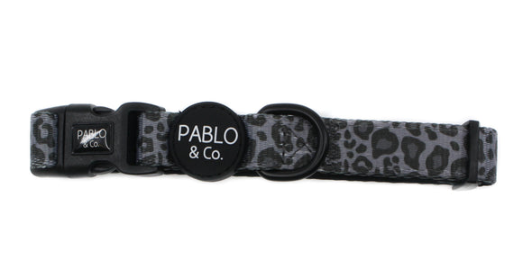 Black & Grey Leopard: Collar