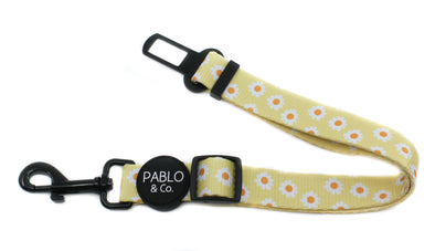 Yellow Daisy: Adjustable Car Restraint