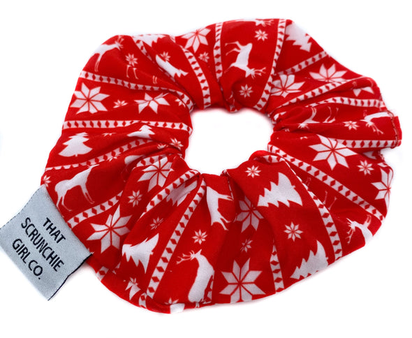 Ugly Christmas Sweater Scrunchie