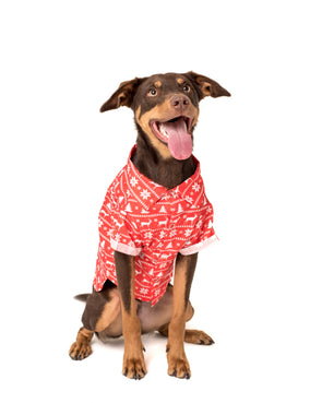 The Ugly Christmas Sweater BBQ Dog Tee