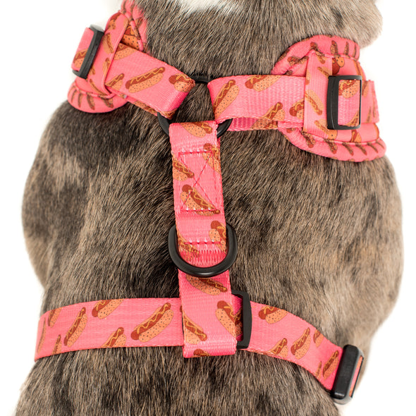 Pink Hot Dogs: Adjustable Harness