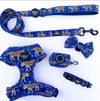 Midnight Cheetah: Adjustable Harness