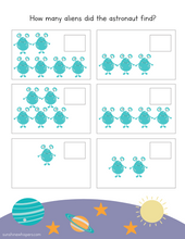 Space Preschool Activity Pack