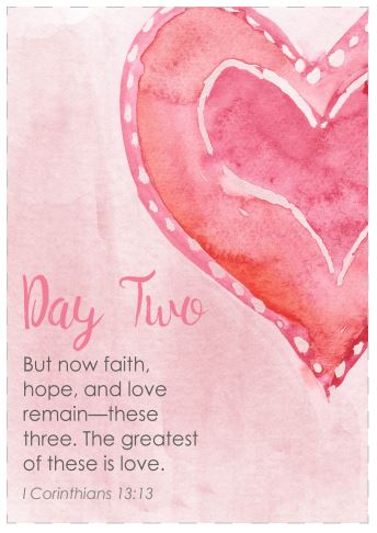 Fruit of the Spirit Printable Scripture Cards: Love (Set #2)