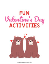 Valentine's Day Games and Activities Printable Pack