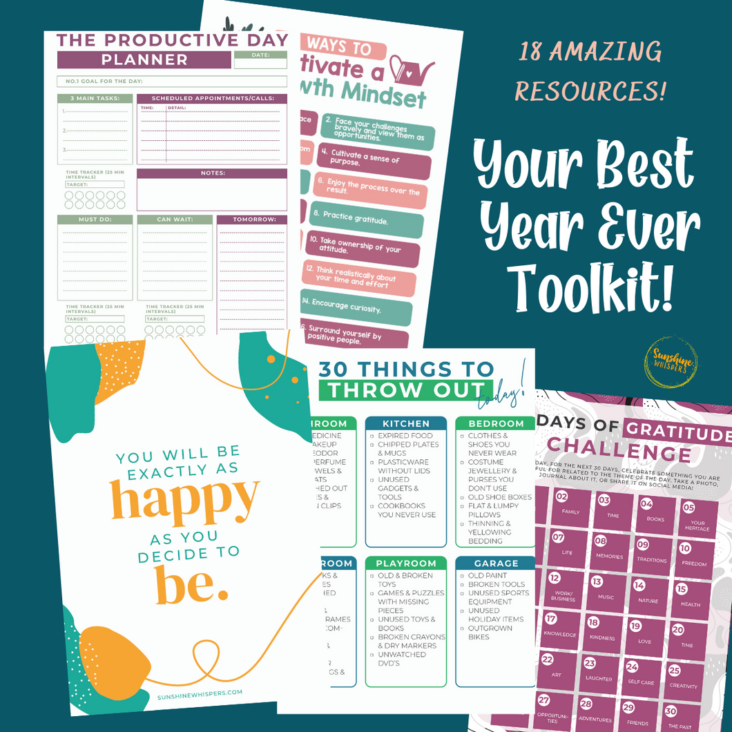 Your Best Year Ever Toolkit!