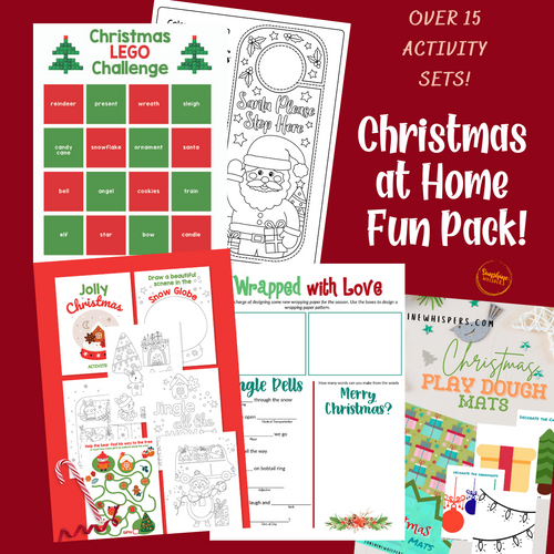 Christmas At Home Fun Pack!