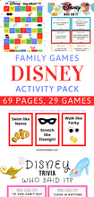 Disney Family Games and Activity Pack