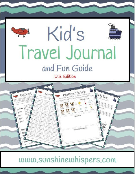 Kid's Travel Journal and Fun Guide