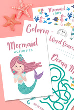 Beach and Under The Sea Printable Activity Pack
