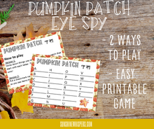 Fall Family Fun Activity Bundle