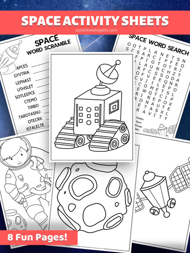 Space Mini Activity Pack