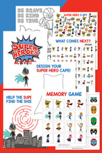 Superhero Activity Pack