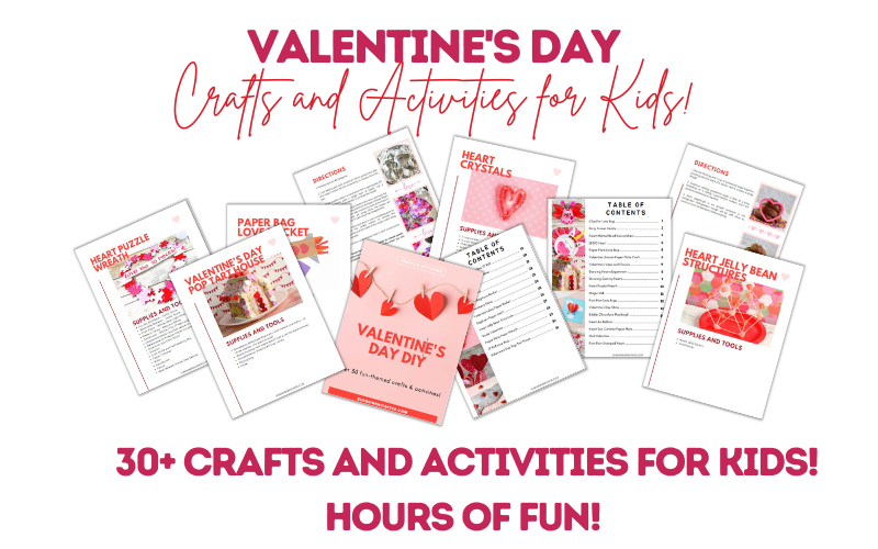 Valentine's Day Crafts and Activities Ebook
