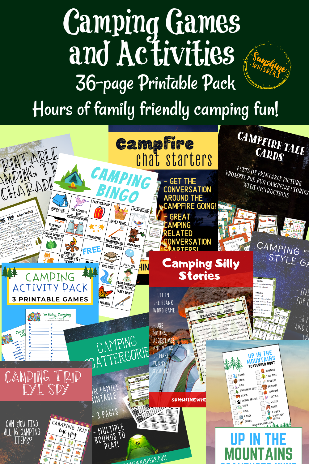 Camping Games and Activities