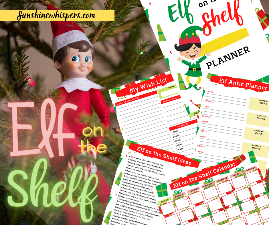 Elf on the Shelf Planning Pack
