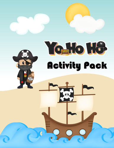 Pirate Activity Printable Pack