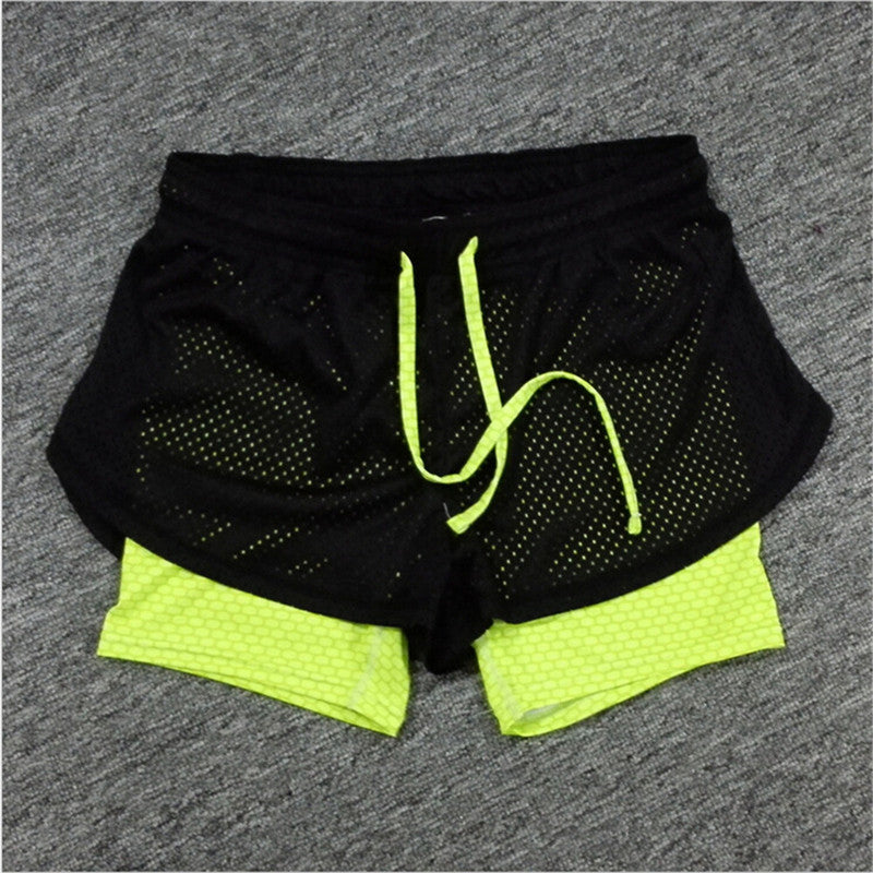 Mainland 2016 Summer Women Cotton Mesh Short Pants Work-out Two