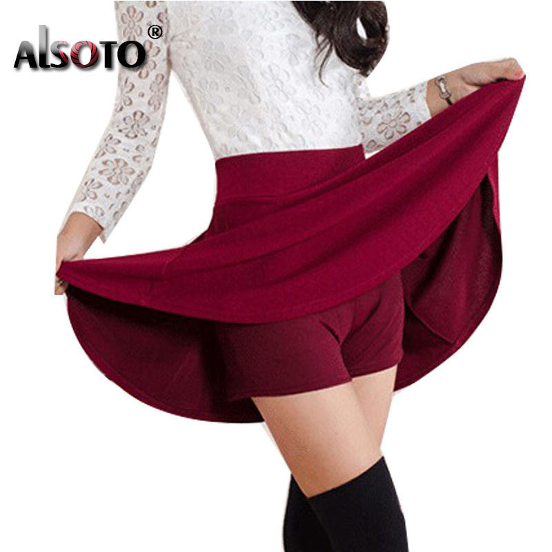 Summer style sexy Skirt Women Clothing Bottoms Korean Anti emptied