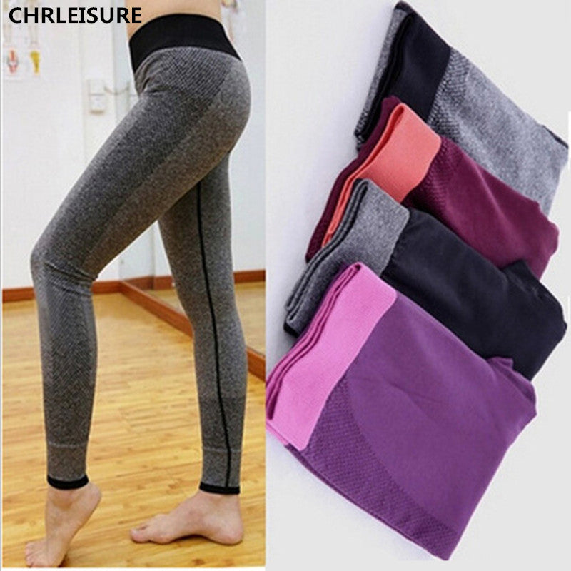 S-XL 4 Colors Women's Leggings Quick Drying Bodybuilding High Waist