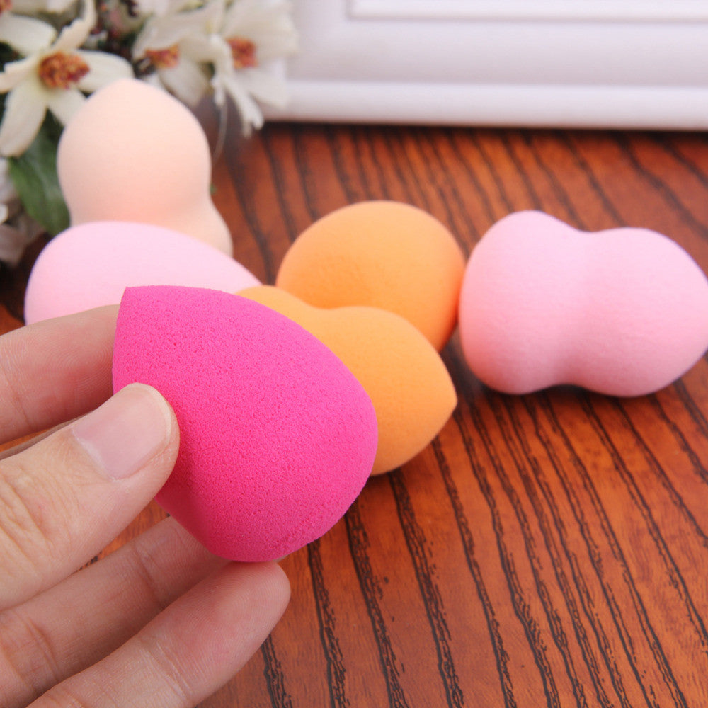 6Pcs Makeup Foundation Sponge Blender Blending Puff Soft Flawless