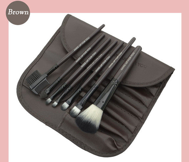 7pcs/kits Makeup Brushes Professional Set Cosmetics Brand Makeup Brush