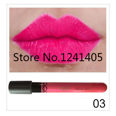 Amazing 12 Colors Waterproof Lip Gloss Long-Lasting Matte Lipstick