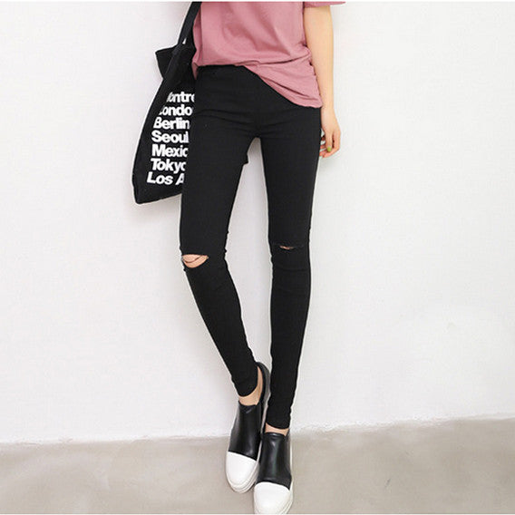 Womens 2015 Spring Summer New Fashion High Quality Woven Cotton Hole