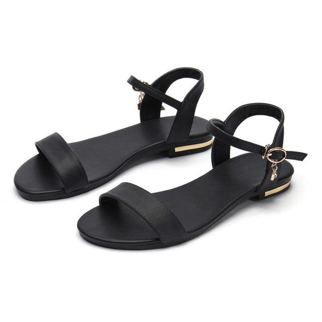 8b57c068c58 New Brand Shoes Ankle Strap Women Sandals Sweet Flower Stiletto ...