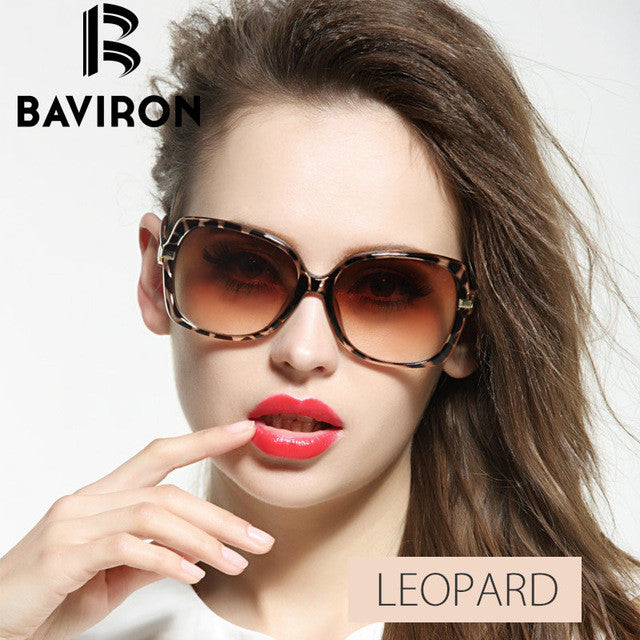 BAVIRON Gorgeous Oversized Sunglasses Women Plastic Casual Outfits