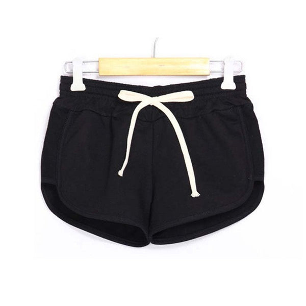 Brand Fashion Women Shorts Elastic Waist Lady Soft Cotton Shorts Causal Shorts Feminino Candy Color Summer Short Pants
