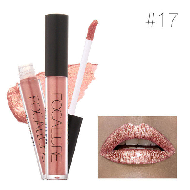 Brand Focallure Lipstick Lip Tattoo Makeup Long Lasting Pigment Nude