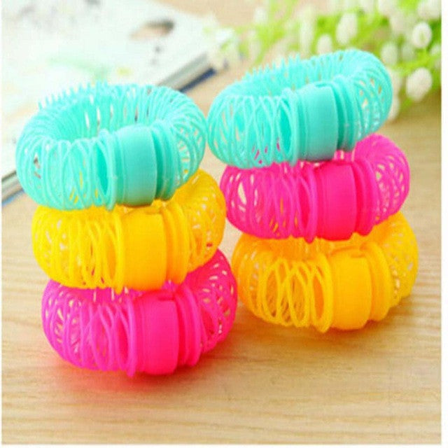 8 pcs/set New Hair Styling Roller Hairdress Magic Bendy Curler