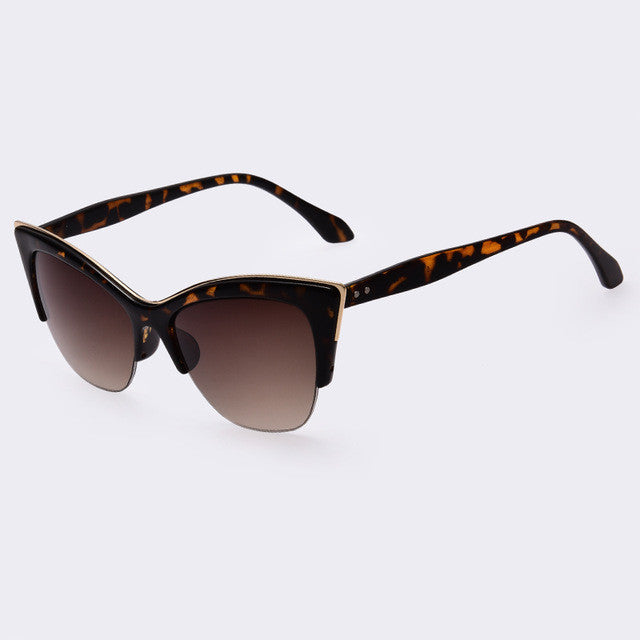 AOFLY Fashion Cat Eye Sunglasses Women Brand Designer vintage sun