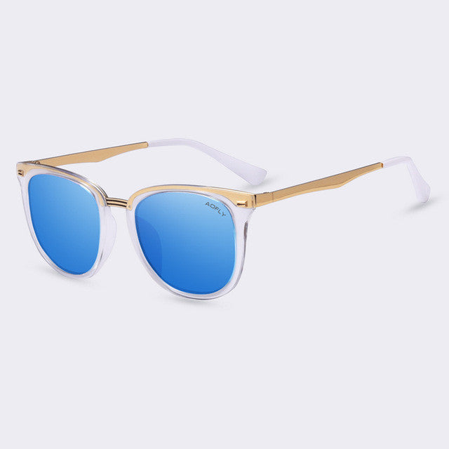 AOFLY Fashion Women's Polarized Sunglasses Vintage  Women Brand