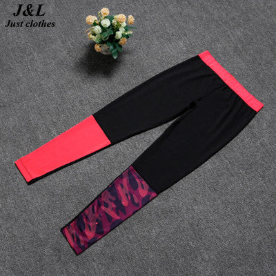 Black Plum Patchwork Sporting Leggings Women Sexy Fitness Pants,3