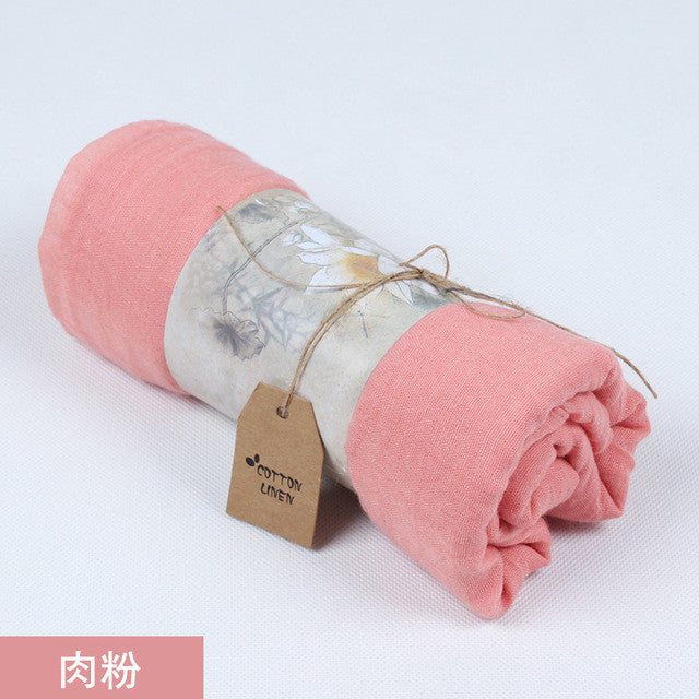 Autumn 2017 New Arrival Scarf Women Dress Scarves Winter Warm Cotton