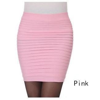 New Fashion 16 Colors Summer Women Skirts High Waist Candy Color
