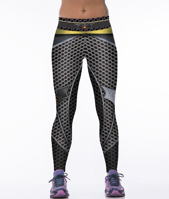 COOL! 3D Printed Legging Women Top Quality Slim Push Up Spandex